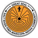 SRP Pima Maricopa Indian Community logo